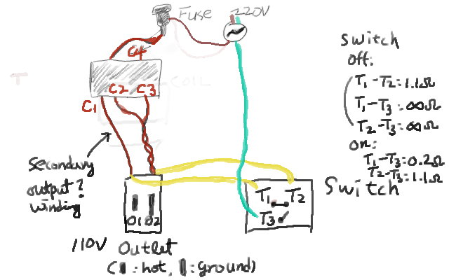 220v to 110v step down transformer | freedom, world peace in unity!, Wiring diagram