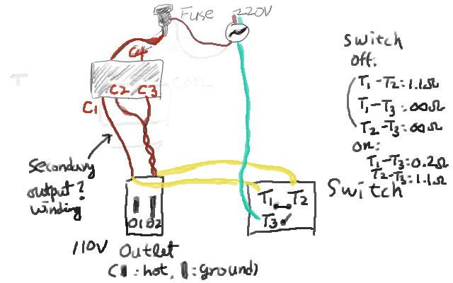 220v to 110v step down transformer