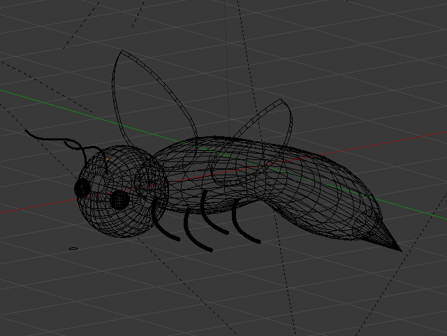 bee_wireframe