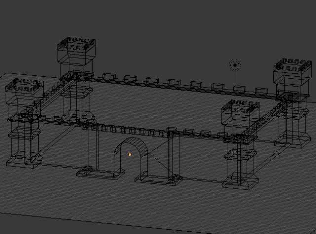 castle_modeling_wireframe