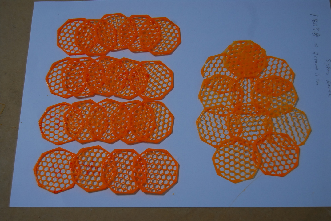 Slic3r vs Cura – honeycomb pattern | Freedom, World peace in