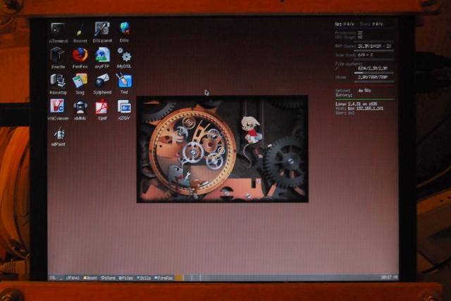 DSL screen shot