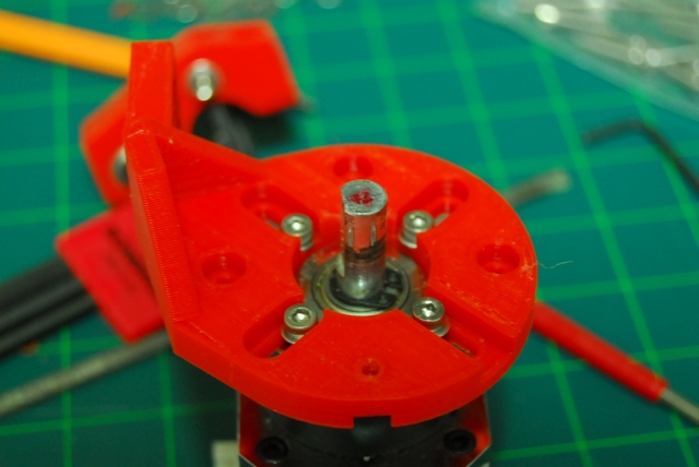 Steppr motor plate